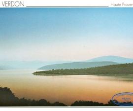 Postcard Francia