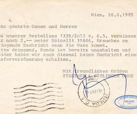 Cartolina Postale Austria